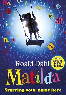 MATILDA | Personalised Poster | West End Show | Wall Art | FREE POST | (TP013)