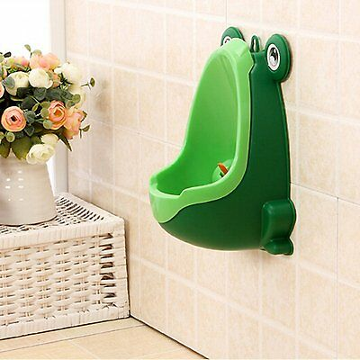 Frog Children Potty Toilet Training Kids Urinal Boys Pee Wee Trainer Free Fast