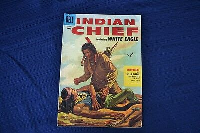 1955 INDIAN CHIEF Comic Dell VG 4.0