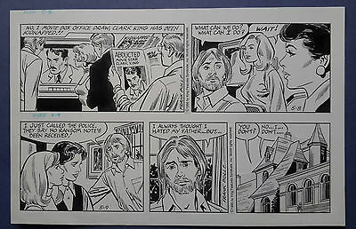 Heart of Juliet Jones Daily strip 05-08-95 & 05-09-95 Original art - Frank Bolle