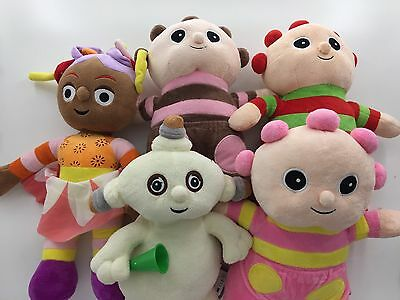 NEW Baby Kids Girl In the Night Garden Snuggle Soft Beanie Doll Toys