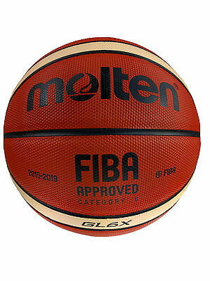 Molten GL6X Leather Competition Basketball | Free Express Delivery Nationwide