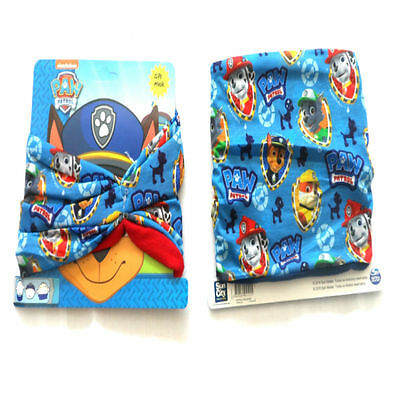 Paw Patrol Scarf Snood Face Mask Ski Mask Nick Jr Chase Rubble Rocky Marshall