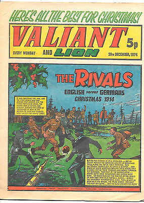 Valiant 28th Dec 1974 (high grade Christmas issue) Adam Eterno, Robot Archie