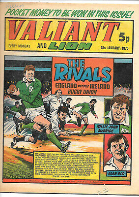 Valiant 18th Jan 1975 (high grade copy) Adam Eterno, Kid Pharoah