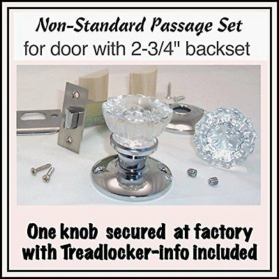 A very affordable Do-It-Yourself 12 point Fluted Crystal Glass Door Knob Sets to