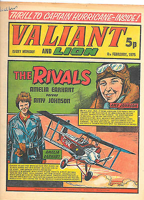 Valiant 8th Feb 1975 (very high grade) Adam Eterno, Kid Pharoah, Spellbinder
