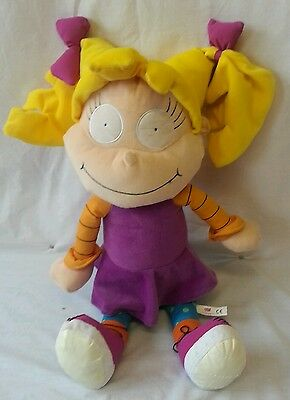 "Rugrats Angelica Large 22"" Soft Toy / Plush Doll / Nickelodeon Rare 2001"