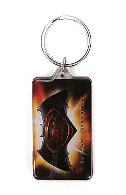DC Comics Batman vs. Superman Logo Lucite Keychain