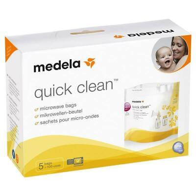 Medela Quick Clean Microwave Bags 5 Pack