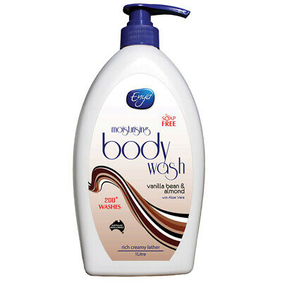 Enya Body Wash Vanilla Bean & Almond 1 Litre
