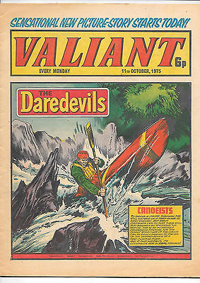 Valiant 11th Oct 1975 (high grade) Adam Eterno, Kid Pharoah, Janus Stark