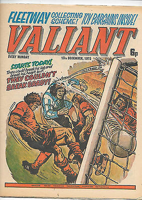 Valiant 13th Dec 1975 (high grade) new look edited by John Wagner