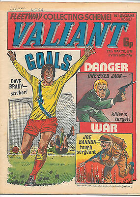 Valiant 27th Mar 1976 (very high grade) One-Eyed Jack, Death Wish, Soldier Sharp
