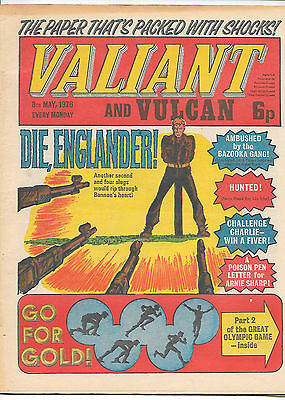 Valiant & Vulcan 8th May 1976 (very high grade copy) One-Eyed Jack, The Spider