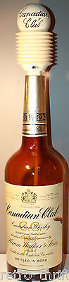 Canadian Club Hiram Walker Whisky 1961 1 Gallon Empty Bottle with Push Pump