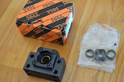 NEW THK BK12 Ballscrew Fixed End Support Block Bearing 12mm ID - CNC Ball Screw