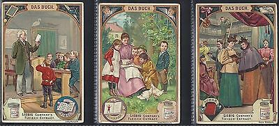 Liebig-*s0562*-Full Set Of 6 Cards- German - The Book