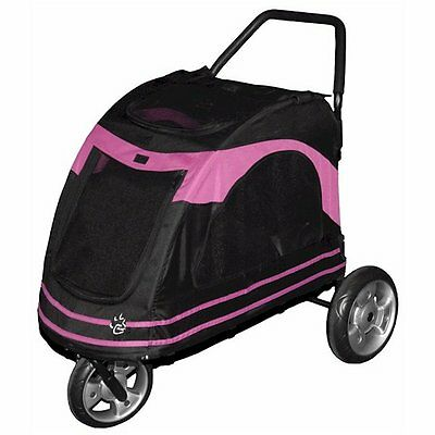 Pet Gear Roadster Pet Stroller Pink Up to 100 lbs New Free Ship