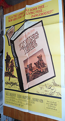 1x Original Vintage Movie Poster 1972 LIVING TREE Comes Folded In Good Shape