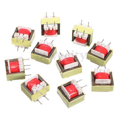 10pcs 1300 : 8 Ohm Audio Transformer EE14 Transformateur Audio POS Transformador