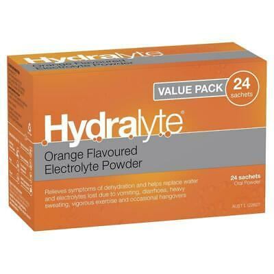 Hydralyte Orange Sachets Value Pack 4.9g x 24