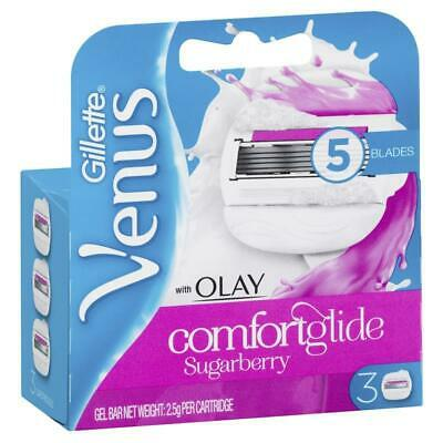 Venus & Olay Refill Blades - Sugarberry 3 Pack