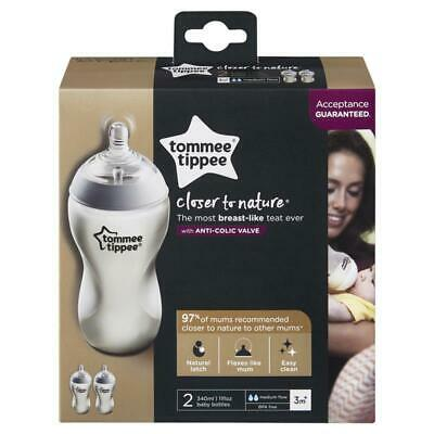Tommee Tippee Closer To Nature Bottles 340ml 2 Pack
