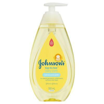 Johnson & Johnsons Baby Bath Top-To-Toe 500ml