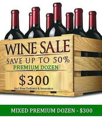 Huge Wine Clearance – Premium Mystery White Mixed Dozen, $300.00