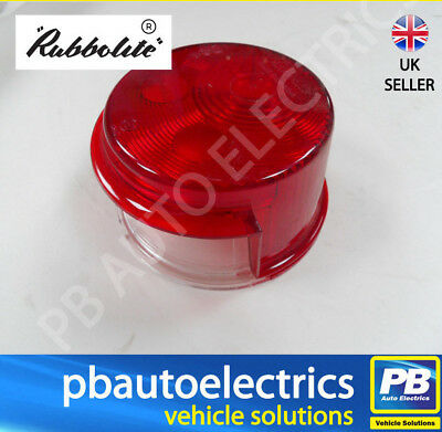 Trucklite/Rubbolite Rear Stop with No Plate Lens - 1650