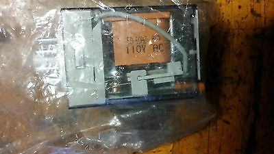 finder 60.12.8.110.0040 DPDT Plug In Non-Latching Relay, 10 A, 110V ac