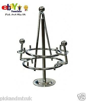 Retro Balancing Happy Circle, Metal Weighted, Office Desk Home Novelty Fun Gift