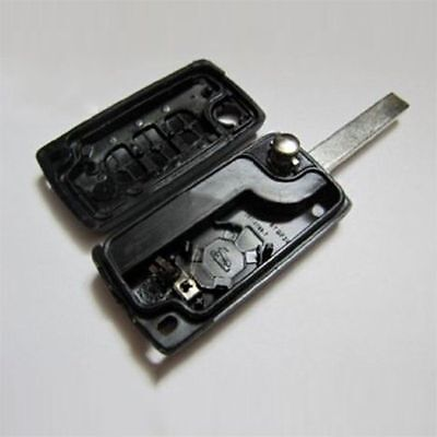 3 Button Car Key Folded Case Shell Uncut Blade for Peugeot 207 307 407 308 SW