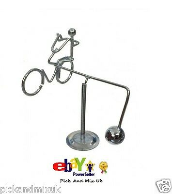 Retro Balancing Bicycle Metal Weighted, Office Desk Home Novelty Fun Gift