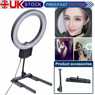 Fotoconic 40W 5400K 32cm Photo Video Ring Light with Flexible Table Top Stand