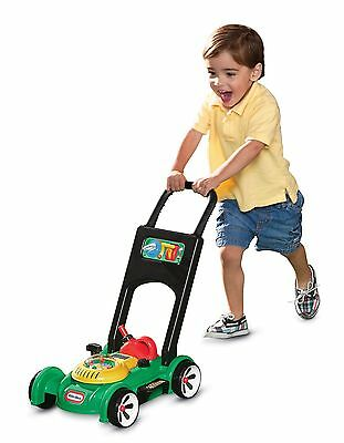 Little Tikes Gas n Go Mower Toy Lawn Mower Brand New