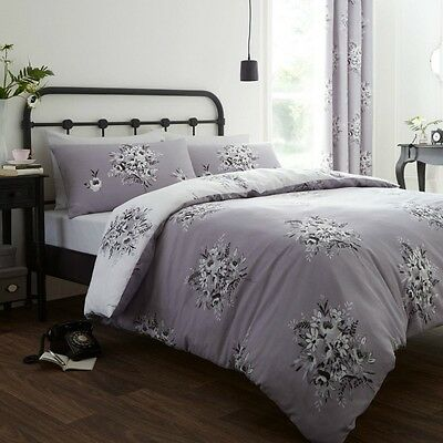Floral Bouquet Luxury Duvet Cover Bedding Set By Catherine Lansfield Additional