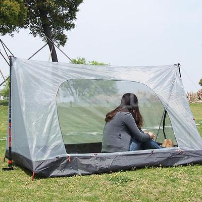 Family Outdoor 2 Person Camping Shelter Backpacking Pop Up Tent Mosquito Net