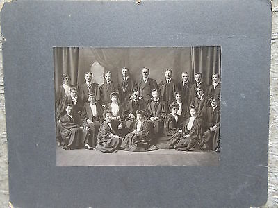 Antique Cabinet Photo University Graduating Class by Gavin & Gentzel Halifax NS