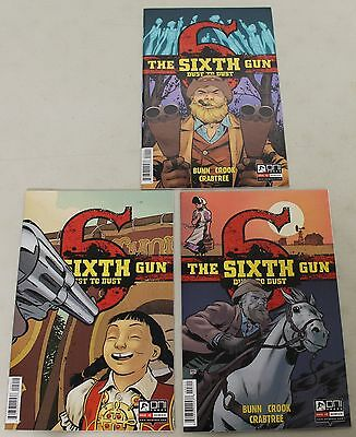 Oni: The Sixth Gun: Dust to Dust (2015) #1-3 COMPLETE SET 1,2,3