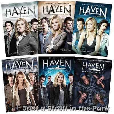 Haven: Complete TV Series Seasons 1 2 3 4 5 Box / DVD Set(s) NEW!