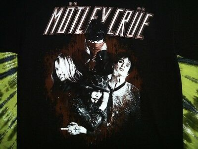 MÖTLEY CRÜE 2013 North American Tour T-shirt M