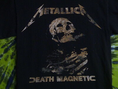 METALLICA Death Magnetic WORLD MAGNETIC TOUR T-Shirt