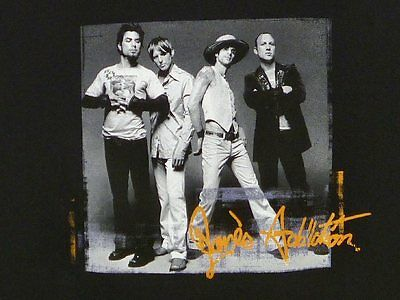 JANE'S ADDICTION Group Photo 2003 ROCK T-SHIRT L janes