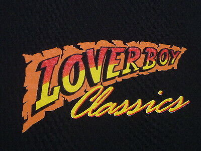 LOVERBOY Loverboy Classics T-Shirt L