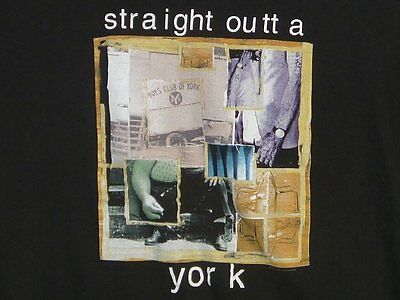 LIVE Straight Outta York 1994 ROCK T-SHIRT L