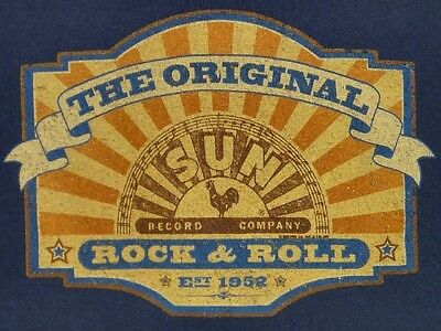 SUN RECORDS The Original Rock & Roll Company T-Shirt S