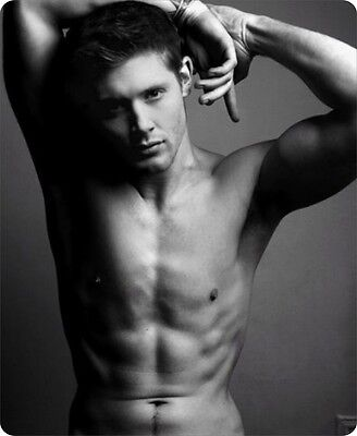 mp0179 Supernatural Jensen Ackles Dean Winchester Mouse Pad Computer