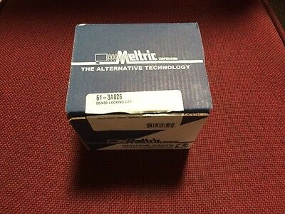 Meltric Corporation 61-3A826 DNS30 Locking Plug Cap